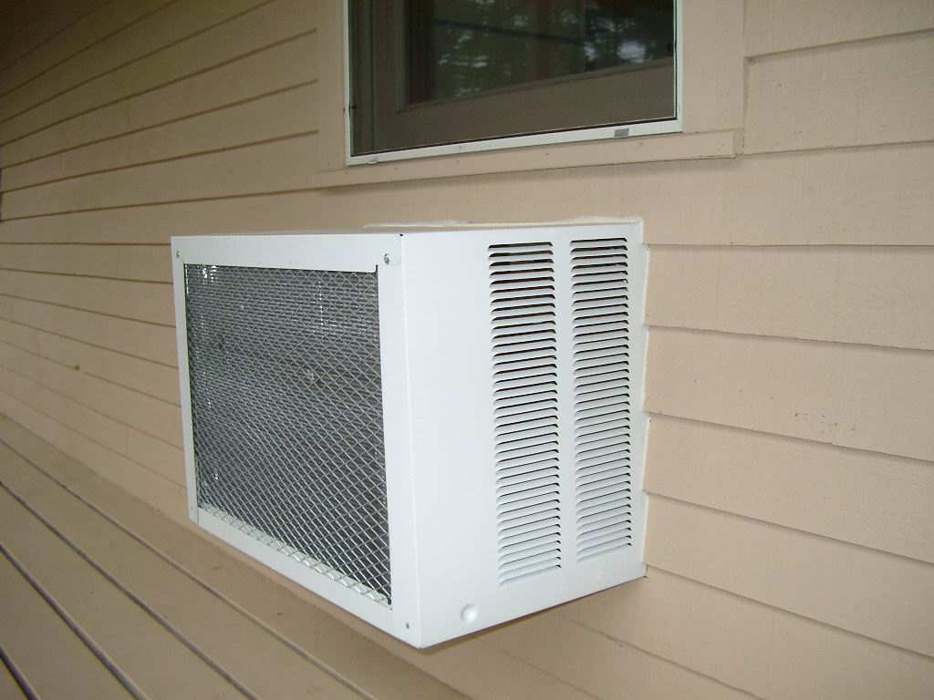 Permanently installed air conditioning